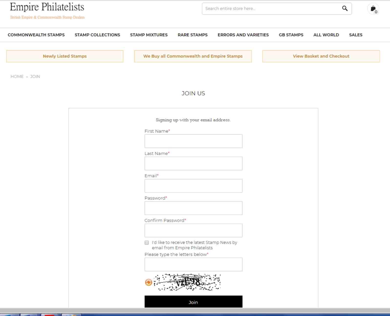 Join Empire Philatelists