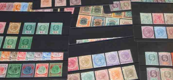 Newly listed stamps